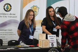 Primco Dene showcased the many career opportunities it has available.